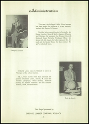 Page 7, 1955 Edition, Wolbach High School - Mustang Yearbook (Wolbach, NE) online yearbook collection