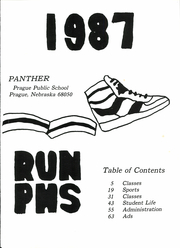 Page 5, 1987 Edition, Prague High School - Panther Yearbook (Prague, NE) online yearbook collection