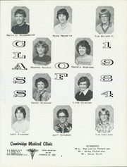 Page 13, 1983 Edition, Holbrook High School - Hornet Yearbook (Holbrook, NE) online yearbook collection