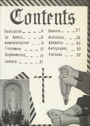 Page 7, 1954 Edition, St Agnes Academy - Crusader Yearbook (Alliance, NE) online yearbook collection