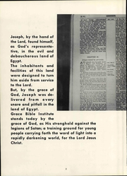 Page 10, 1962 Edition, Grace University - Charis Yearbook (Omaha, NE) online yearbook collection