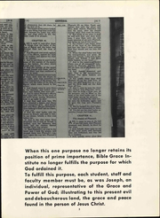 Page 11, 1962 Edition, Grace University - Charis Yearbook (Omaha, NE) online yearbook collection