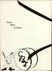 Page 16, 1963 Edition, Grace University - Charis Yearbook (Omaha, NE) online yearbook collection
