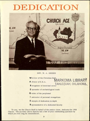 Page 7, 1964 Edition, Grace University - Charis Yearbook (Omaha, NE) online yearbook collection