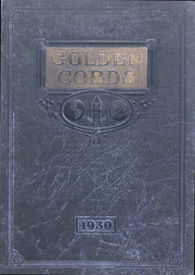 1930 Edition, Union College - Golden Cords Yearbook (Lincoln, NE)