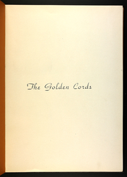 Page 5, 1936 Edition, Union College - Golden Cords Yearbook (Lincoln, NE) online yearbook collection