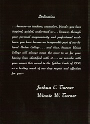Page 10, 1958 Edition, Union College - Golden Cords Yearbook (Lincoln, NE) online yearbook collection
