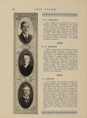 Page 10, 1912 Edition, Doane College - Tiger Yearbook (Crete, NE) online yearbook collection