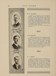 Page 12, 1912 Edition, Doane College - Tiger Yearbook (Crete, NE) online yearbook collection