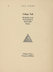Page 6, 1912 Edition, Doane College - Tiger Yearbook (Crete, NE) online yearbook collection