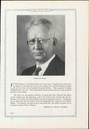 Page 17, 1931 Edition, Doane College - Tiger Yearbook (Crete, NE) online yearbook collection