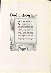 Page 9, 1931 Edition, Doane College - Tiger Yearbook (Crete, NE) online yearbook collection