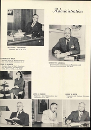 Page 10, 1952 Edition, Doane College - Tiger Yearbook (Crete, NE) online yearbook collection