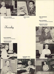 Page 11, 1952 Edition, Doane College - Tiger Yearbook (Crete, NE) online yearbook collection