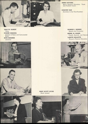 Page 12, 1952 Edition, Doane College - Tiger Yearbook (Crete, NE) online yearbook collection