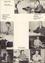 Page 13, 1952 Edition, Doane College - Tiger Yearbook (Crete, NE) online yearbook collection