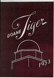 1953 Edition, Doane College - Tiger Yearbook (Crete, NE)