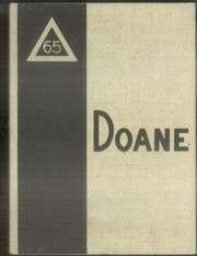 1965 Edition, Doane College - Tiger Yearbook (Crete, NE)