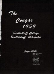 Page 5, 1959 Edition, Western Nebraska Community College - Cougar Yearbook (Scottsbluff, NE) online yearbook collection