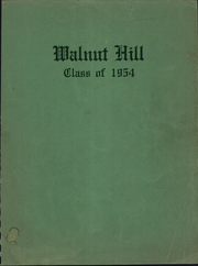 1954 Edition, Walnut Hill School - Annual Yearbook (Omaha, NE)
