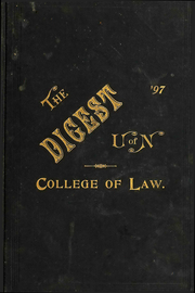 University of Nebraska College of Law - Yearbook (Lincoln, NE) online yearbook collection, 1897 Edition, Page 1