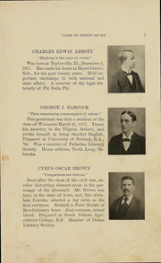 Page 12, 1897 Edition, University of Nebraska College of Law - Yearbook (Lincoln, NE) online yearbook collection