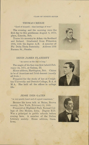 Page 14, 1897 Edition, University of Nebraska College of Law - Yearbook (Lincoln, NE) online yearbook collection