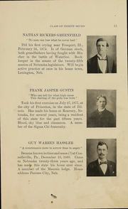 Page 16, 1897 Edition, University of Nebraska College of Law - Yearbook (Lincoln, NE) online yearbook collection