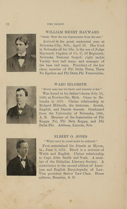 Page 17, 1897 Edition, University of Nebraska College of Law - Yearbook (Lincoln, NE) online yearbook collection