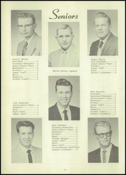 Page 10, 1957 Edition, Riverdale High School - Bluejay Yearbook (Riverdale, NE) online yearbook collection