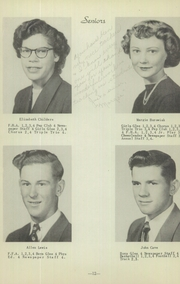 Page 16, 1953 Edition, Genoa High School - Oriole Yearbook (Genoa, NE) online yearbook collection
