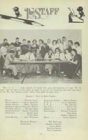 Page 7, 1953 Edition, Genoa High School - Oriole Yearbook (Genoa, NE) online yearbook collection