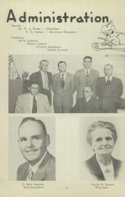 Page 8, 1953 Edition, Genoa High School - Oriole Yearbook (Genoa, NE) online yearbook collection