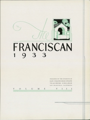 Page 7, 1933 Edition, San Francisco State University - Franciscan Yearbook (San Francisco, CA) online yearbook collection
