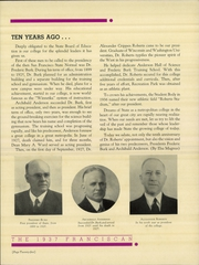 Page 16, 1937 Edition, San Francisco State University - Franciscan Yearbook (San Francisco, CA) online yearbook collection