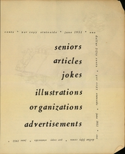 Page 5, 1951 Edition, San Francisco State University - Franciscan Yearbook (San Francisco, CA) online yearbook collection