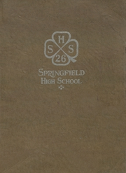 1926 Edition, Springfield High School - Annual Yearbook (Springfield, NE)