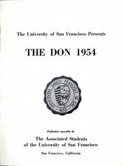 Page 5, 1954 Edition, University of San Francisco - USF Don Yearbook (San Francisco, CA) online yearbook collection