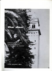 Page 5, 1959 Edition, University of San Francisco - USF Don Yearbook (San Francisco, CA) online yearbook collection