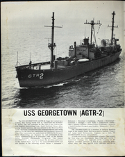 USS Georgetown (AGTR 2) - Naval Cruise Book online yearbook collection, 1967 Edition, Page 7