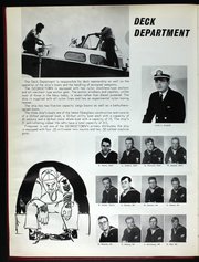 Page 10, 1969 Edition, USS Georgetown (AGTR 2) - Naval Cruise Book online yearbook collection
