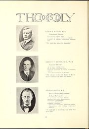 Page 16, 1925 Edition, Rocky Mountain College - Yellowstone / Poly Yearbook (Billings, MT) online yearbook collection