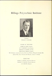 Page 6, 1925 Edition, Rocky Mountain College - Yellowstone / Poly Yearbook (Billings, MT) online yearbook collection