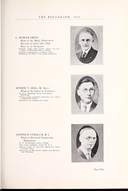 Page 15, 1926 Edition, Rocky Mountain College - Poly Yearbook (Billings, MT) online yearbook collection