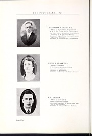 Page 16, 1926 Edition, Rocky Mountain College - Poly Yearbook (Billings, MT) online yearbook collection