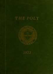 Page 1, 1933 Edition, Rocky Mountain College - Yellowstone / Poly Yearbook (Billings, MT) online yearbook collection