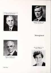 Page 12, 1933 Edition, Rocky Mountain College - Yellowstone / Poly Yearbook (Billings, MT) online yearbook collection