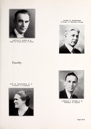 Page 13, 1933 Edition, Rocky Mountain College - Yellowstone / Poly Yearbook (Billings, MT) online yearbook collection