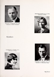 Page 15, 1933 Edition, Rocky Mountain College - Yellowstone / Poly Yearbook (Billings, MT) online yearbook collection