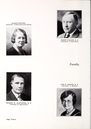 Page 16, 1933 Edition, Rocky Mountain College - Yellowstone / Poly Yearbook (Billings, MT) online yearbook collection